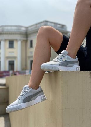 Женские кроссовки puma cali grey