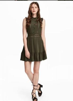 Брендовое платье рубашка