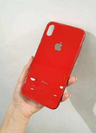 Глянцевый чехол для айфон iphone xs max