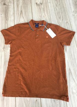 Стильная актуальная футболка scotch & soda тенниска поло tommy hilfiger polo ralph lauren
