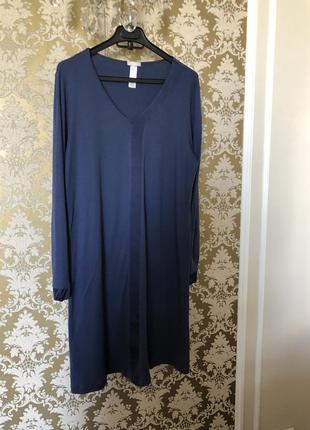 Домашнее платье нереального качества премиум бренда из швейцарии hanro