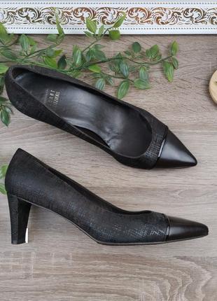 🌿38🌿европа🇪🇺 stuart weitzman. кожа. фирменные качественные туфли