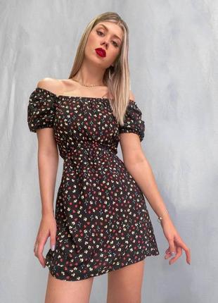 Платья цветочное