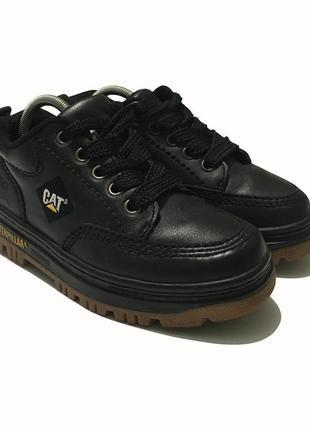Ботинки cat caterpillar кожаные