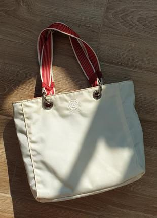 Двусторонняя сумка багет bogner