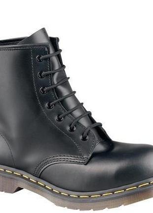 Топовые кожаные ботинки dr. martens 10108.1 фото