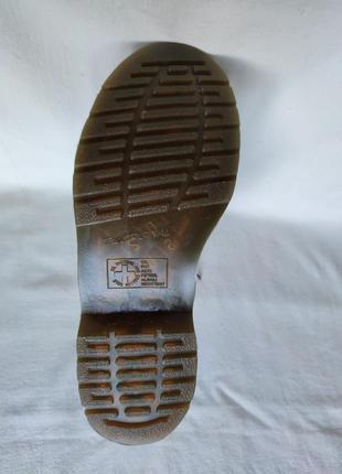 Топовые кожаные ботинки dr. martens 10108.9 фото