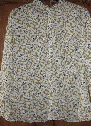 Стильная блуза, лонгслив с цветочным принтом