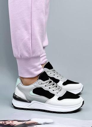 Женские стильные разноцветные кроссовки