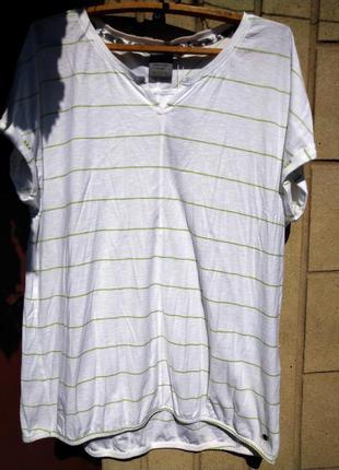 Новая стильная и комфортная туника, удлиненная футболка  оверсайз cecil