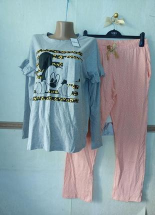 Комфортная женская пижама disney p.40-42