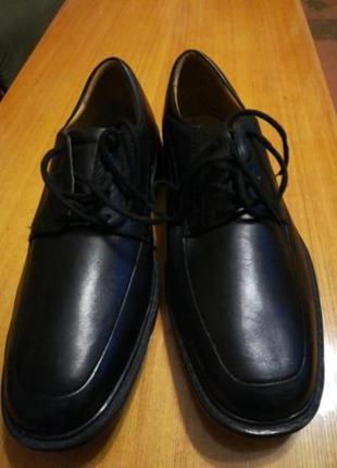 Комфортные кожаные туфли8 фото