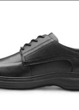 Комфортные кожаные туфли5 фото