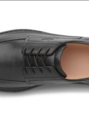 Комфортные кожаные туфли2 фото