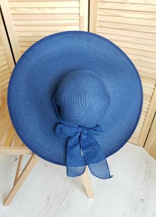 Шикарная шляпа, синяя braxton