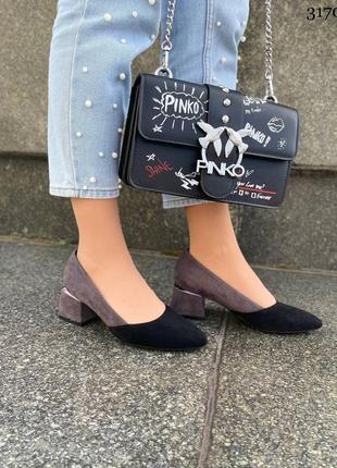 Туфли с острым носком 3170