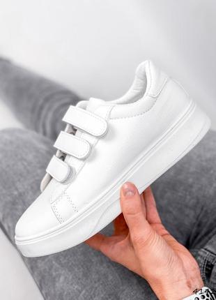 Кроссовки женские karli белые