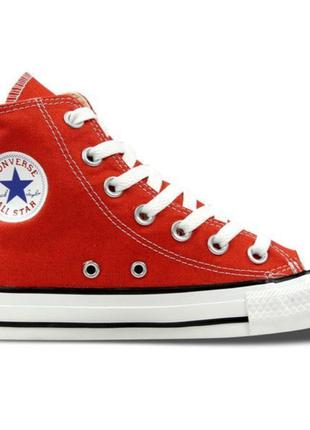 """Кеди """"converse"""" червоні all star"""