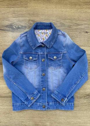 Джинсовка джинсовая куртка піджак