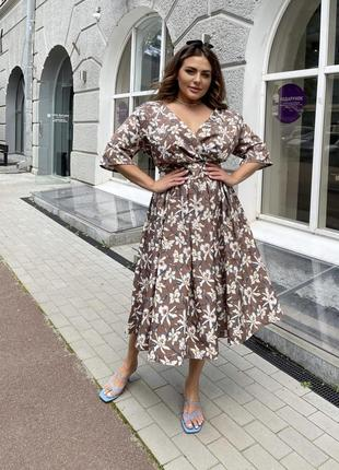Стильные эффектные платья - клеш, выбор размеров