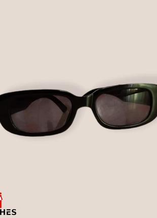 Очки женские zara солнцезащитные цвет черный4 фото