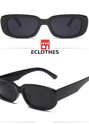 Очки женские zara солнцезащитные цвет черный2 фото