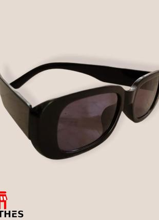 Очки женские zara солнцезащитные цвет черный3 фото