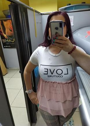 Итальянская блузочка футболка