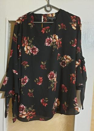 Симпатичная блуза блузка