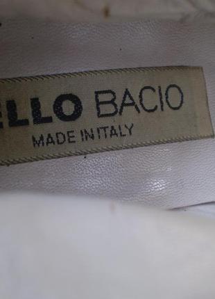 Женские лаковые туфли-ботинки lello bacio  италия 37р. кожаные9 фото