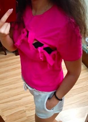 Новая брендовая плотная футболка узлы, l xl2 фото