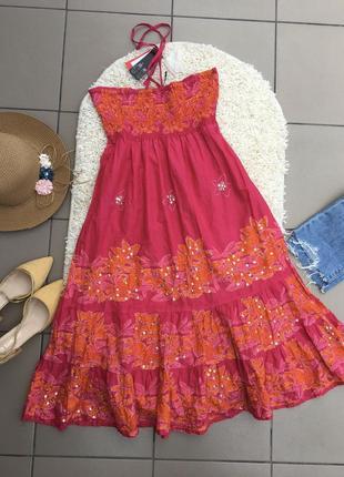 2в1 юбка сарафан миди платье