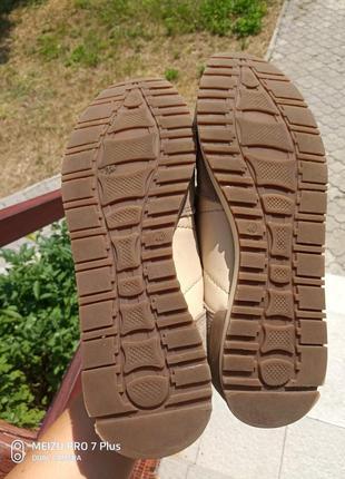 Качественные, комфортные кроссовки натуральная кожа hn 40 разм6 фото