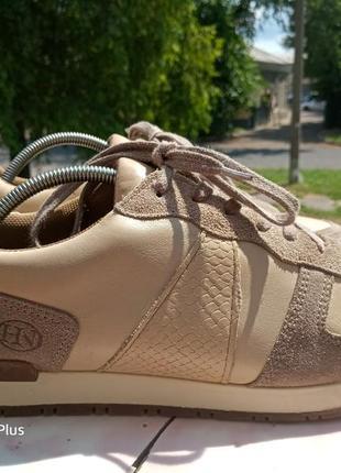 Качественные, комфортные кроссовки натуральная кожа hn 40 разм2 фото