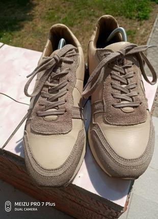 Качественные, комфортные кроссовки натуральная кожа hn 40 разм3 фото