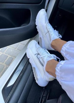 Nike air max 2090 white женские кроссовки наложка2 фото