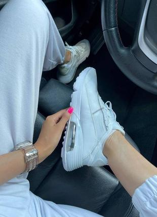 Nike air max 2090 white женские кроссовки наложка4 фото