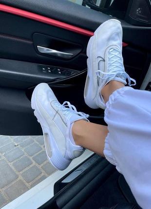 Nike air max 2090 white женские кроссовки наложка10 фото