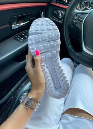 Nike air max 2090 white женские кроссовки наложка9 фото