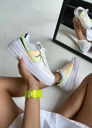 Nike air force 1 shadow crimson tint женские кроссовки наложка
