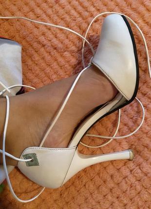 Кожаные туфли 34 р+подарок