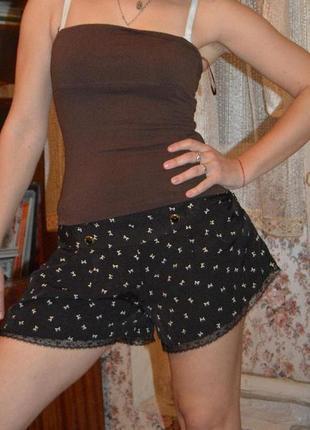 Шорты, шортики, шорты-юбка, шорты с кружевом atmosphere