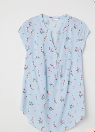 H&m футболка из натуральной ткани