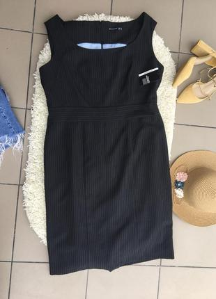 Сарафан платье офисное деловое