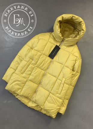 Яркая женская куртка / желтая