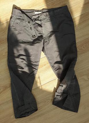 Графитовые штаны(колюты) prada