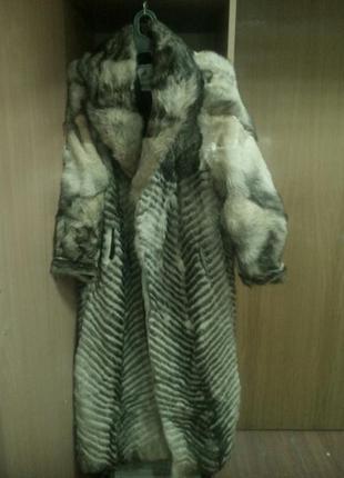 Шуба на любую зиму из степного волка