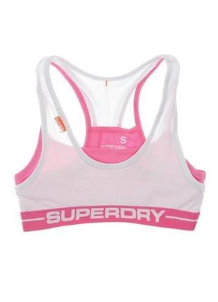 Топ superdry athletic style bra - m