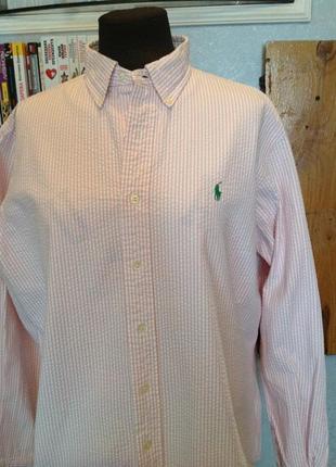 Рубашка жатка бренда ralph lauren, р. 58-60