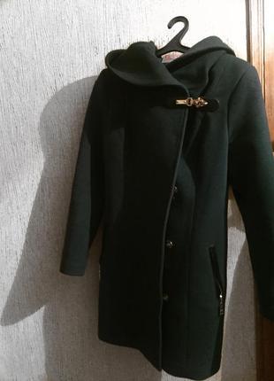 Пальто, натуральный кашемир осень-зима